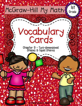 First-Grade Math Vocabulary {My Math Series - Unit 9}{CCSS