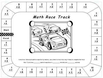 First Grade Math Worksheet Using CC I can statements For 1.OA.6