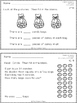 First Grade Math in Focus Exit Tickets - Chapters 10 - 19
