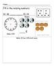 First Grade Math morning work packet
