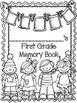 First Grade Memory Book (Seuss Friends)