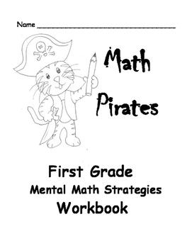 First Grade Mental Math Strategy Practice Workbook:  8 Str