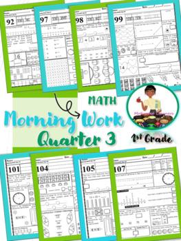 First Grade Morning Math-3rd Qtr