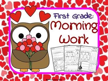 First Grade Morning Work: February