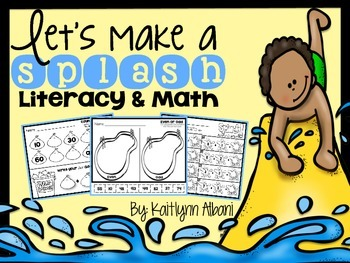 First Grade Morning Work Math and Literacy Skills Packet