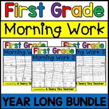 First Grade Morning Work {The Bundle}