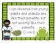 """First Grade Next Generation Science """"I Can"""" Statement Post"""