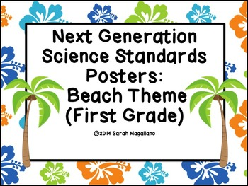 Next Generation Science Standards Posters (First Grade): B