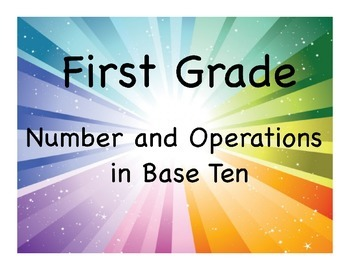 First Grade Number and Operations in Base Ten