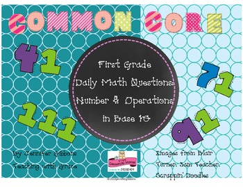 First Grade- Number and Operations in Base Ten Daily Math
