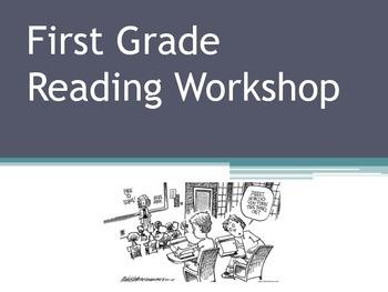 First Grade Presentation for Parents
