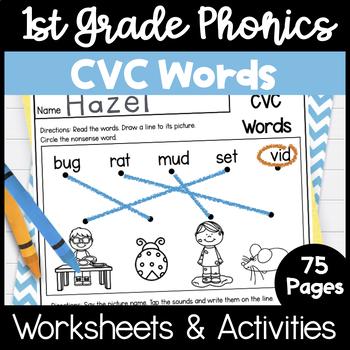 First Grade Phonics - Unit 2, CVC Words