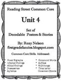 First Grade Reading Street Common Core: Unit 4 Decodable P
