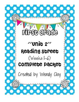 First Grade Reading Street Unit 2 Entire Pack of Supplemen