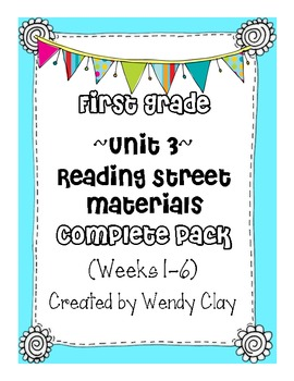 First Grade Reading Street Unit 3 Complete Pack Supplement