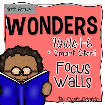 First Grade Reading Wonders Focus Wall {Mega BUNDLE}