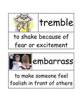 First Grade- Ready Gen- Stellaluna- Vocabulary