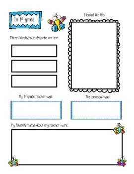 First Grade Review and Second Grade Preview