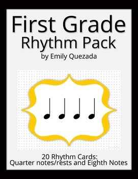 First Grade Rhythm Pack