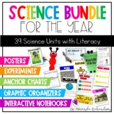 First Grade Science Bundle:Units, Interactive Notebooks, C