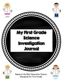 First Grade Science Journal: Next Generation Science Standards