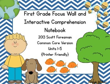First Grade Scott Foresman Focus Wall and Interactive Comp