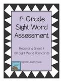 First Grade Sight Word Assessment