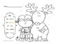 First Grade Sight Word Color- Christmas Edition