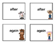 First Grade Sight Word Printable Concentration Game-FarmTheme