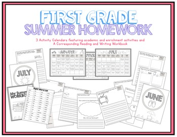 First Grade Summer Homework