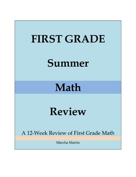 First Grade Summer Math Review