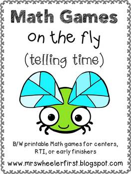 First Grade Telling Time Math Games