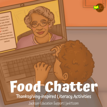 First Grade Thanksgiving Comprehension Lesson (Passage & A