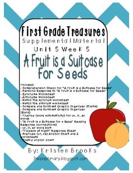 First Grade Treasures 5.5 A Fruit is a Suitcase for Seeds