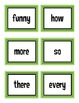 First Grade Treasures High Frequency Words Flash Cards Unit 3