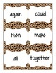 First Grade Treasures Sight Word Cards