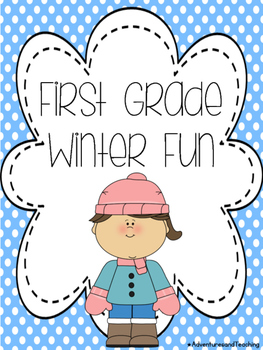 First Grade Winter Writing and Fun Pack NO PREP
