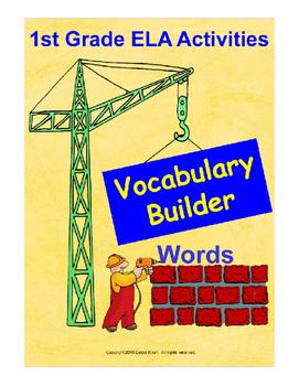 First Grade Word Building Program ELA