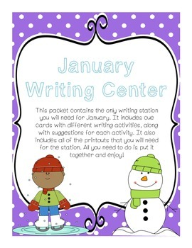 Writing Center (January)