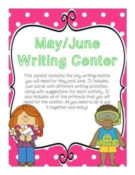 Writing Center (May/June)