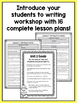First Grade How-To Writing Lessons {1st Grade Writing Work
