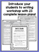 First Grade Informational Writing Lessons {1st Grade Writi