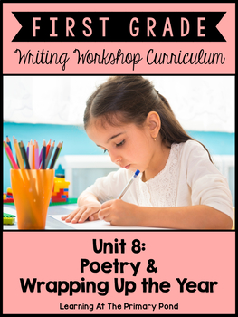 First Grade Poetry Writing Lessons {1st Grade Writing Work