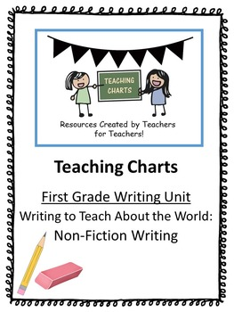 First Grade Non-Fiction Writing Curriculum (Lucy Calkins I