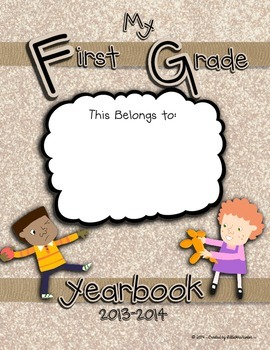 First Grade Yearbook 2013-2014