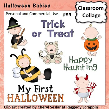 First Halloween - Color - personal & commercial use  costu