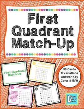 First Quadrant Match-Up Cards