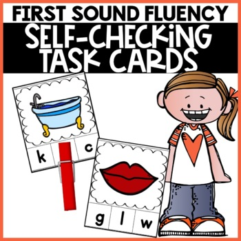 First Sound Fluency CVC Phonics Reading Practice games sel