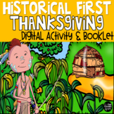 The Real First Thanksgiving Booklet and Interactive Whiteb