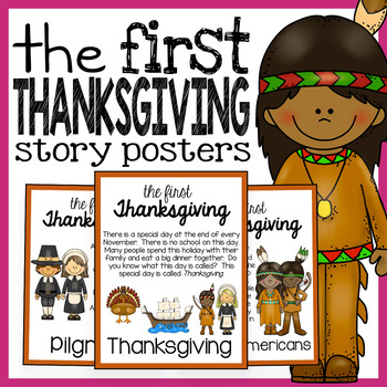 The First Thanksgiving Early Reader Story Posters and Stor